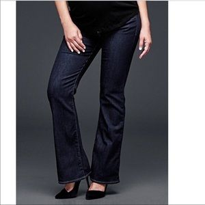 Gap maternity Sz 8 long & lean over the belly jean